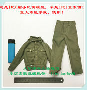 Uniform For Did D80148 Wwii German U-boat Commander- Lehmann 1/6 Scale 12and039and039
