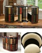 Stacked Books 3 Piece Chat Set Library Coffee Tea Dining Kitchen Home Furniture
