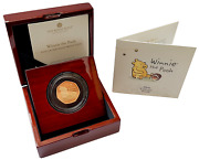 2020 Winnie The Pooh And039honeyand039 Gold Proof 50p - 525 Issue Limit.