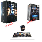 Haven The Complete Series 1-6 24 Dvd Disc Box Set New Free Shipping