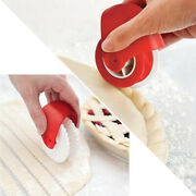 Pizza Pastry Lattice Cutter Pastry Pie Decoration Cutters Plastic Wheels Roln`us