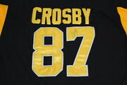 Sidney Crosby Signed Autograph Jersey - Pittsburgh Penguins Team Canada Kid Psa