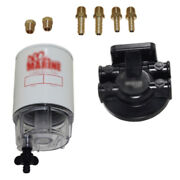 Nib Fuel Filter Water Separator Plastic Bowl Racor Style 10 Mic Inboard Outboard