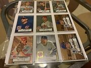 2006 And 2007 Topps 52 Chrome And Rafractors /lot 32 /