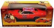 1969 Dodge Charger Dukes Of Hazzard General Lee Orange By Johnny Lightning 118