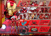1/6 Hot Toys Toy Sapiens Limited Avengers Iron Man Mark 7 F/s From Japan