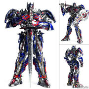 Three A Transformers Optimus Prime Last Knight King Edition F/s From Japan
