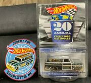 Hot Wheels 20th Nationals Konvention Dinner And03964 Gmc Panel Truck / 4000 Mit Patch