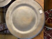 Good Earth Pottery Richie Watts 2003 Silver Pearl Dinner Plate