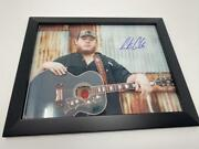 Luke Combs Signed Autograph 11x14 Photo Framed To Hang This Oneand039s For You A Acoa