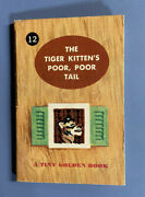 Vintage Tiny Golden Book The Tiger Kittenand039s Poor Poor Tail Kunhardt 1948