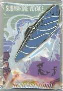 Disney Pin 66765 Wdi Submarine Voyage Pin And Attraction Poster Jumbo Le 300