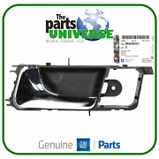 Gm Chrome Interior Door Handle Left Fits Chevrolet Optra Lacetti Buick 96548063