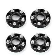 Forged Wheel Spacers 25mm 4pcs For Ford Mustang Explorer 114.3 On 5 Lugs Black