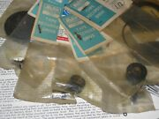 Turntable And Tape Recorder Parts Wheels Belts Rollers Nos/nib