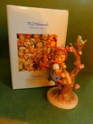 Apple Tree Girl, Hummel 141-1 Size 6 Original Box From 1989 Purchase Signed
