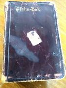 Antique German Psalm Book / Bok Leather Cover 2.75 X 4