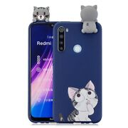 For Redmi Note 8t 3d Cartoon Painting Back Cover Soft Tpu Mobile Phone Case S...