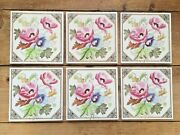 6 Aesthetic Movement W And E Corn Reclaimed Fireplace Floral Tiles Minton Interest