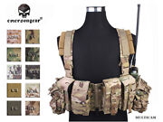 Emersongear Lbt 1961a-r Chest Rig Airsoft Combat Molle Chest Rig