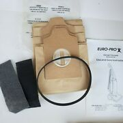 Euro Pro X Vacuum Replacement Belt Filters Bags Parts Sweeper Instructions New