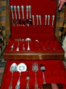 Sterling Silver By Towle Flatware Set, 47 Pieces, 6 Place Settings