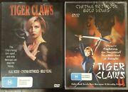 Tiger Claws 1 And 2 Dvd Cynthia Rothrock Jalal Merhi Bolo Yeung Martial Arts Films