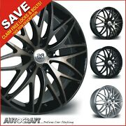 20 Stryke Alloy Wheels + Tyres - Vw Transporter T5 T6 T28 T32 + Load Rated