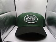 New York Jets New Era Hat Green Fitted S/m Td Classic