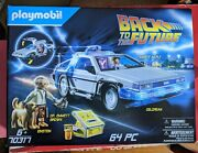 Playmobil Back To The Future Delorean Playset 70317 - New Sealed