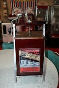 Larger Butter Churn H.p. Hood And Sons Ice Cream Creamery Butter Fresh Churned