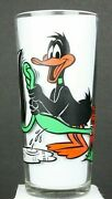 Vintage Pepsi Collector Series Glass 1976 Daffy Duck And Pepe Le Pew Looney Tunes