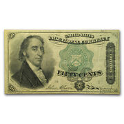 4th Issue Fractional Currency 50 Cents Dexter Vf Fr1379 - Sku54517