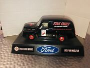 Gearbox Fire Chief 1953 Ford F-100 Panel Van Diecast Model Collectible Car