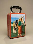 Accoutrements 2001 Reproduction Tin Cowgirl Western Lunch Box Dale Evans 10713