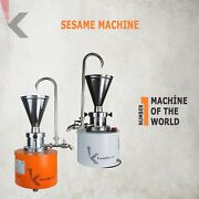 Aesthetics With High Capacity And Efficiency Tahini Machine From Sesame
