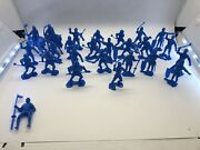 Marx Toys Blue Knight Platics Figures Re-issue