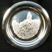 Horizons West Sterling Silver Collectors' Plate 419.6g