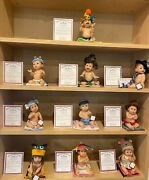Ashton Drake Ccllection Over 140 Dolls Many Rare Limited And Popular. Coa