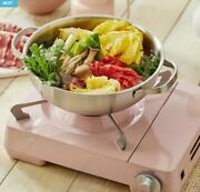 [dr.hows] Twister Twinkle Stove / Camping,outdoor / Baby Pink Color