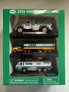 Brand New Unopened 2019 Hess Truck Mini Collection Set Of 3 Trucks Limited Nib