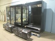 Barker Hd Commercial Refrigerated Lighted 145andfrac12w Floral Display Merchandiser