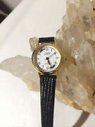Unique Gitano Ladies Vintage Moon Phase Watch With New Battery