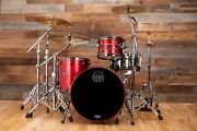 Mapex Saturn Evolution Hybrid Birch / Maple / Walnut 3 Piece Drum Kit Tuscan Re