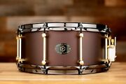 Noble And Cooley 14 X 6 Alloy Cast Aluminium Matte Burgundy Brass Lugs Black Ch