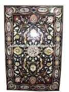 6and039x3and039 Marble Dining Table Top Rare Marquetry Work Inlay Decor Furniture H1205