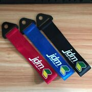 Jdm Racing Cars Towing Strap Belt Rope Cars Tow Accessories Modified Racing Tags
