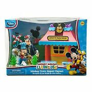 Mickey Mouse Clubhouse Railroad Station Playset Mickey And Gang New In Box
