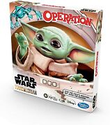 Hasbro Gaming Operation Game Star Wars The Mandalorian Edition Board Game For K
