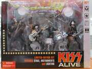 Spawn Kiss Alive Boxed Set Entertainer Talent Fighting Figure From Japan